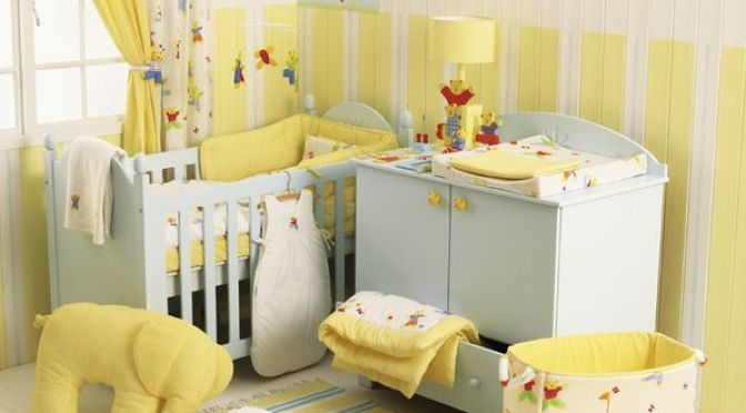 decoración de cuarto para bebé