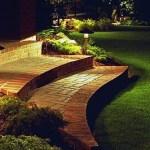 Iluminación exterior con faroles