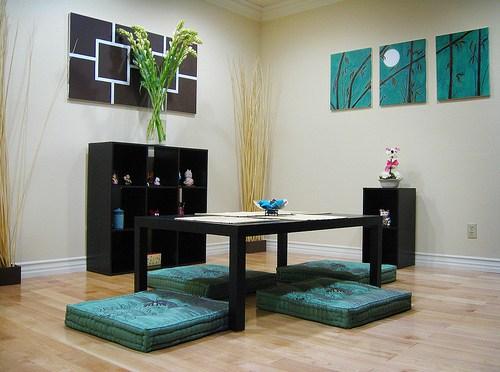 Diseño de interiores estilo zen