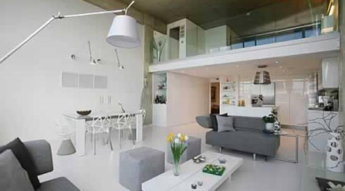 Moderno loft minimalista