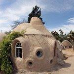 Casa de adobe tradicional