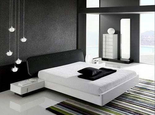 Moderno dormitorio minimalista