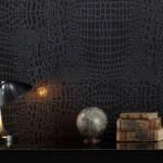 Paneles decorativos color negro estilo sobrio