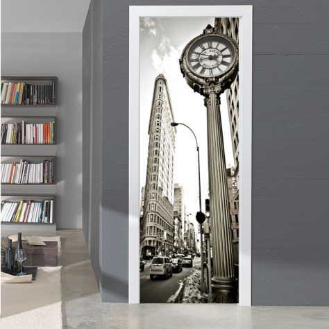 Vinilos decorativos para puertas originales divertidos - Vinilos para cristales de puertas ...