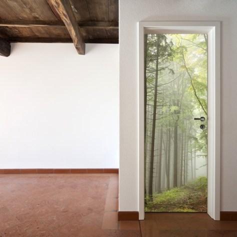 Vinilos decorativos para puertas originales divertidos - Vinilo para puerta ...