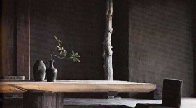 a awabisabi piedra madera