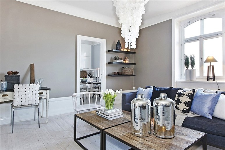 Un r ve bleu gris en su de planete deco a homes world - Deco bleu et gris ...