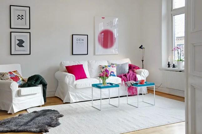 Rose et bleu turquoise pour un duplex planete deco a - Appartement duplex alvhem makleri goteborg ...