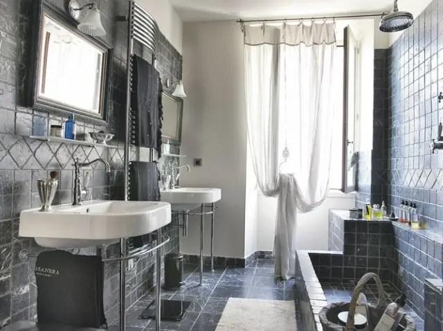 Soleil entre mer et montagne planete deco a homes world for Deco mer salle de bain