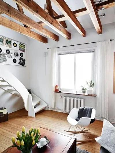 Un duplex bien pens planete deco a homes world - Appartement duplex alvhem makleri goteborg ...