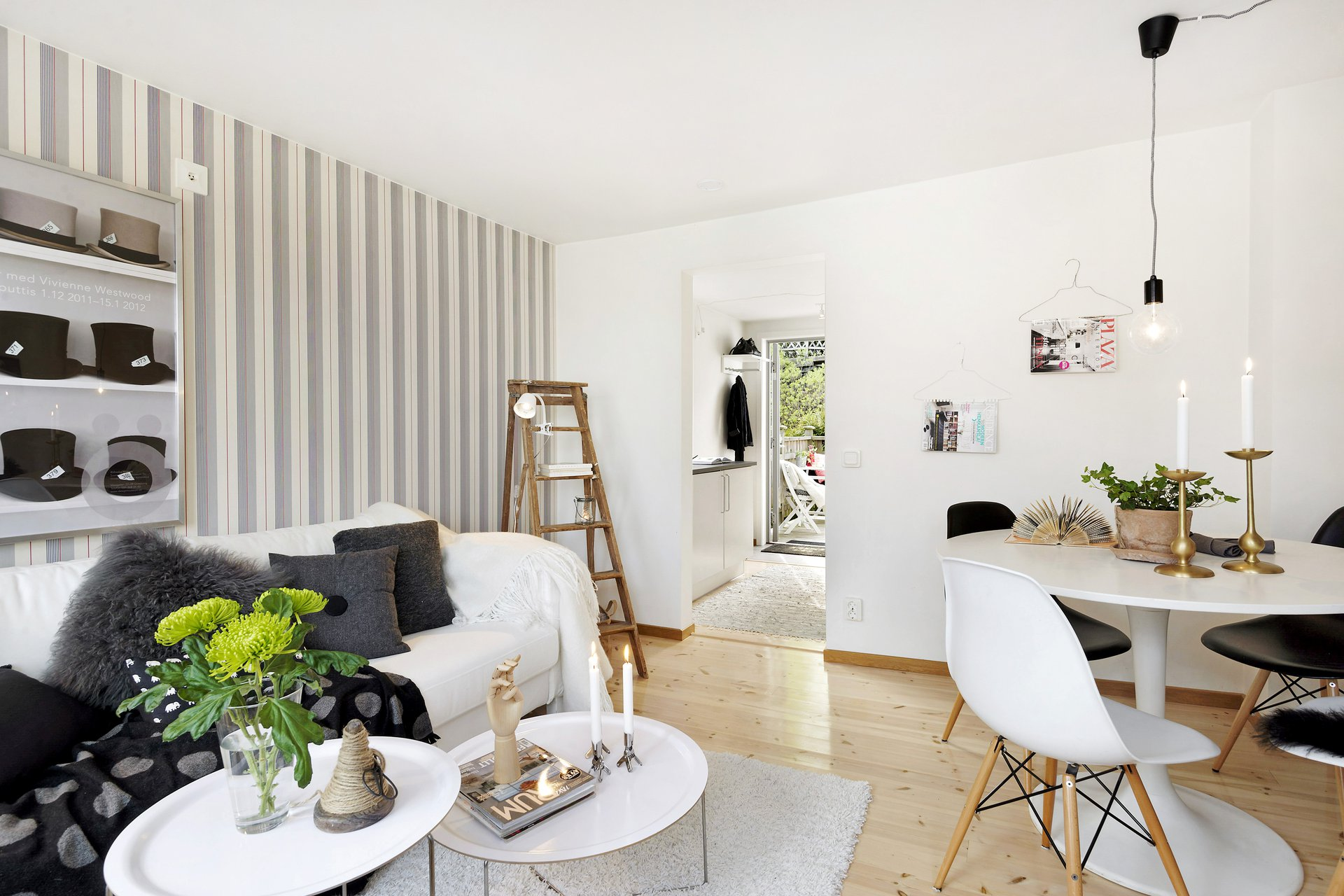 D co maison petite surface for Salon du bois paris