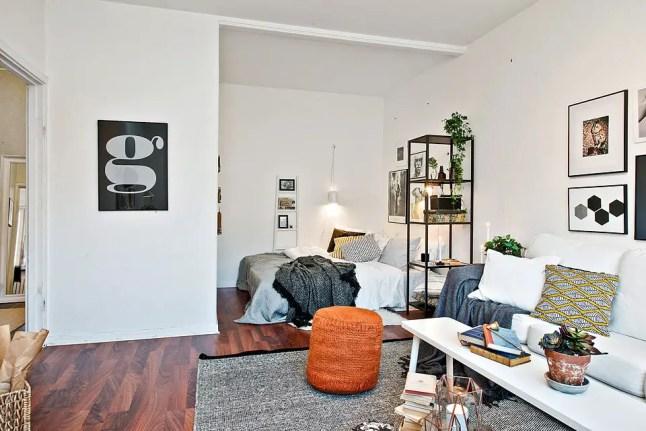 Les petites surfaces du jour une chambre en alc ve - Chambre en alcove ...