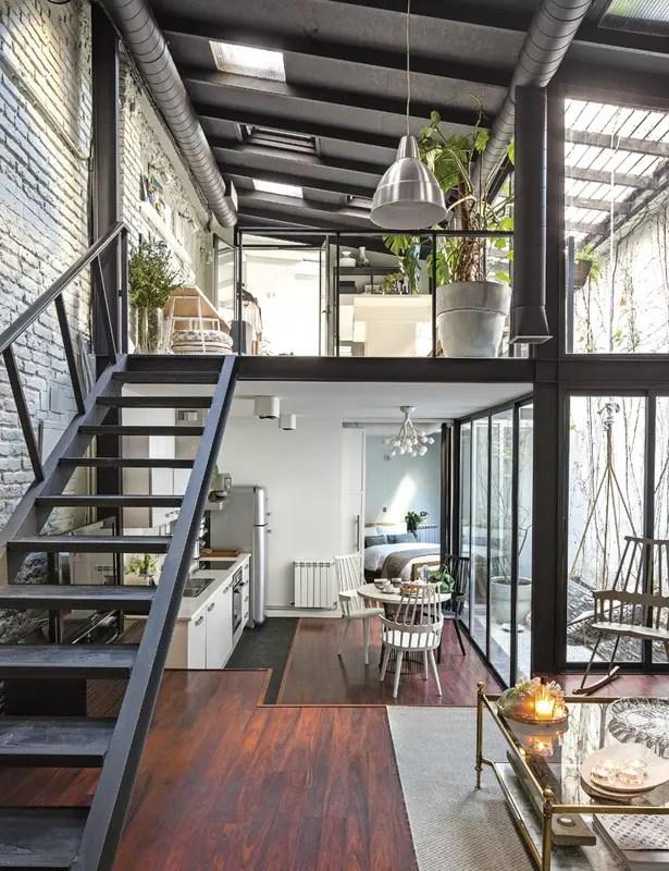 Un atelier transform en loft madrid planete deco a - Lofts en madrid ...