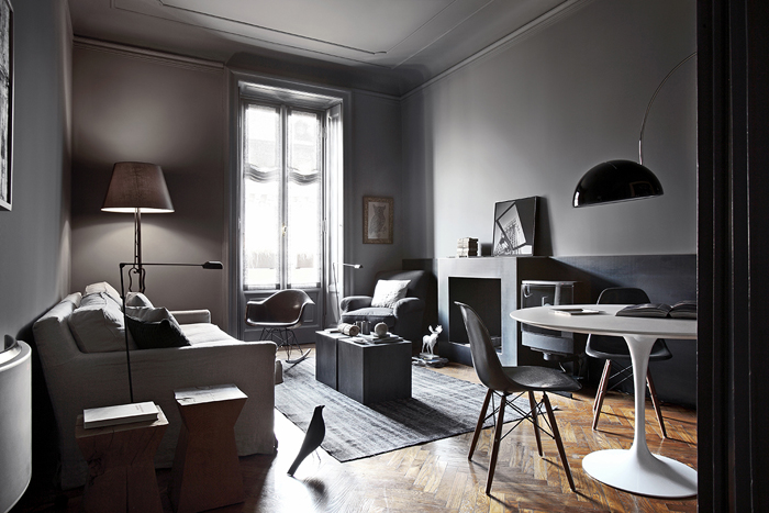 Masculin et gris planete deco a homes world for Decoration appartement masculin