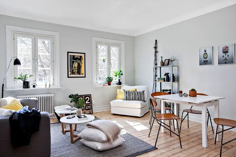 Salle a manger carrelage gris: decoration salon avec carrelage ...