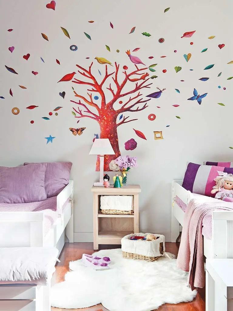 comment am nager une chambre pour deux filles planete. Black Bedroom Furniture Sets. Home Design Ideas