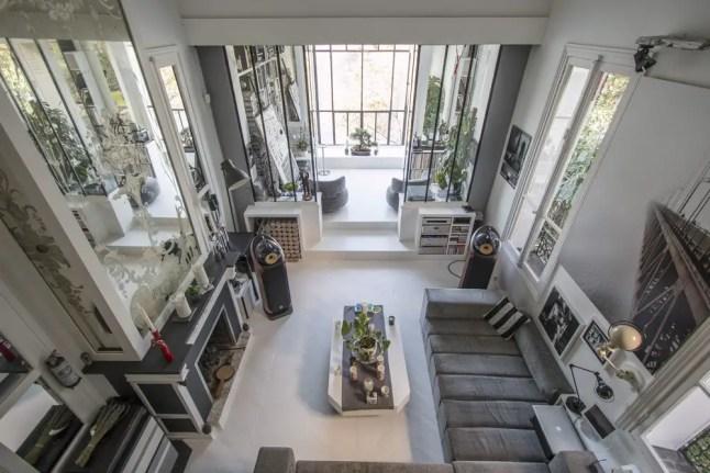 un atelier d 39 artiste en bord de seine planete deco a homes world. Black Bedroom Furniture Sets. Home Design Ideas