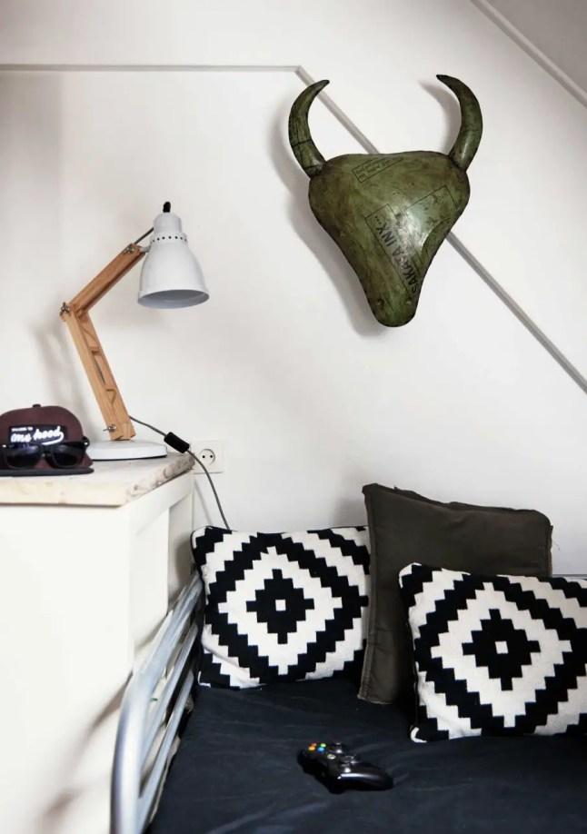 Dormitorio juvenil con estilo