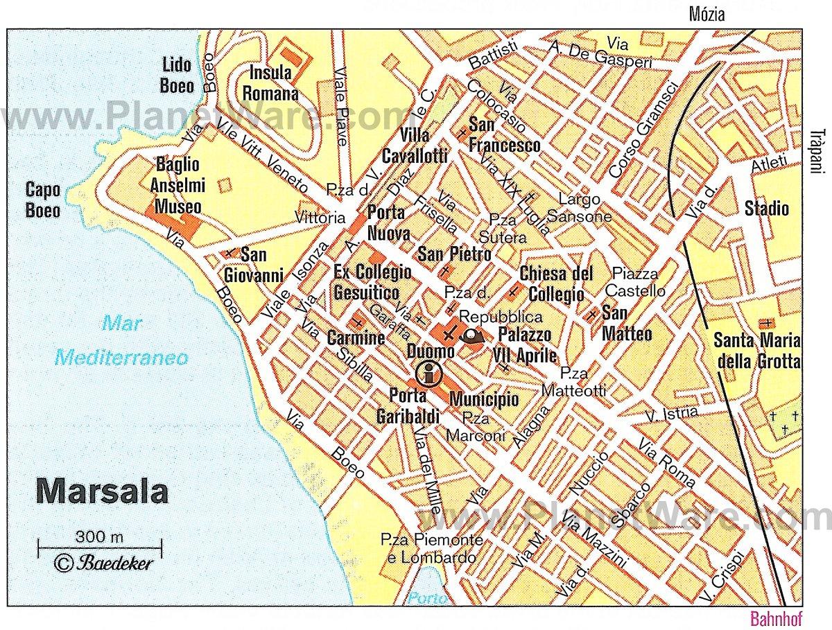 map taormina