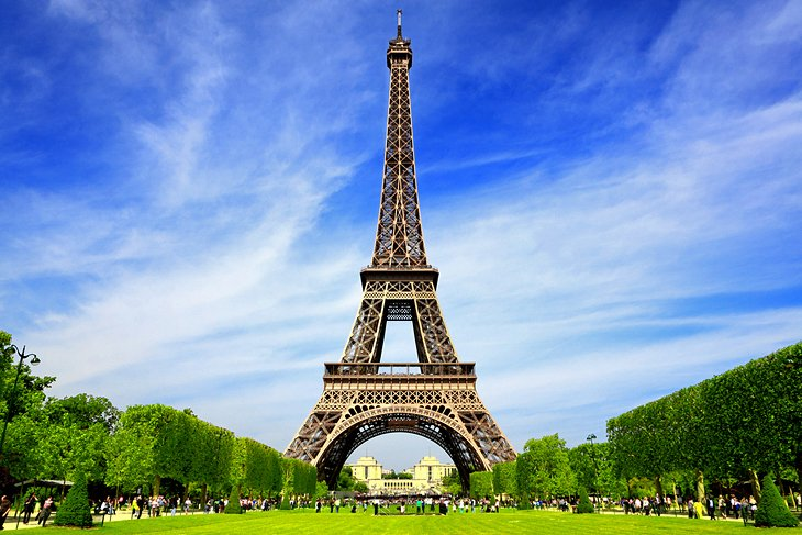 22 Top Rated Tourist Attractions in Paris   PlanetWare Eiffel Tower