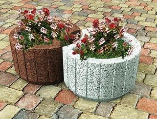 Tipos de maceteros caracter sticas e indicaciones - Piedras para jardineras ...
