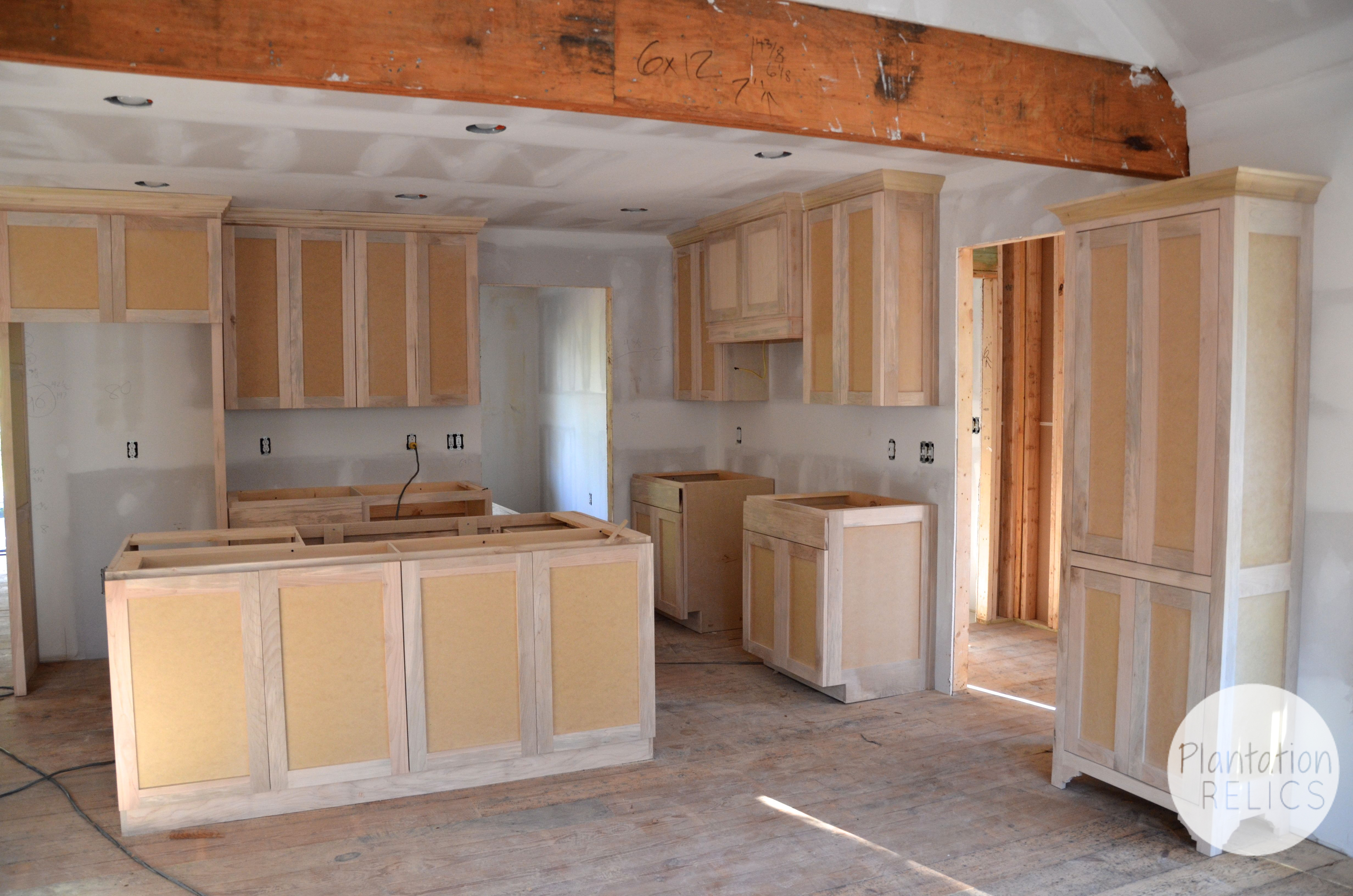 new kitchen cabinets installed flip house installing kitchen cabinets Kitchen cabinets before paint from french door flip