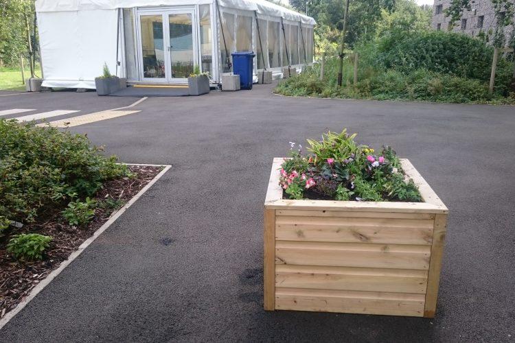 Car park planters