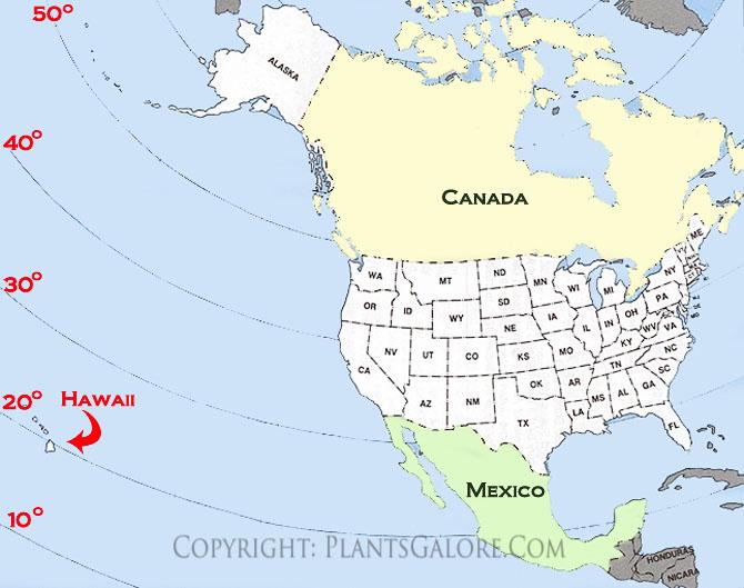 map to hawaii
