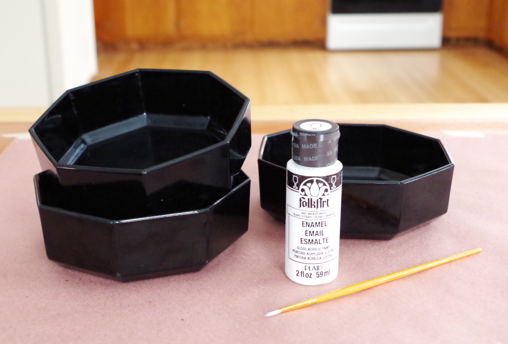 Thrift Store Bowls into Graphic Planters - Supplies - Plaster & Disaster
