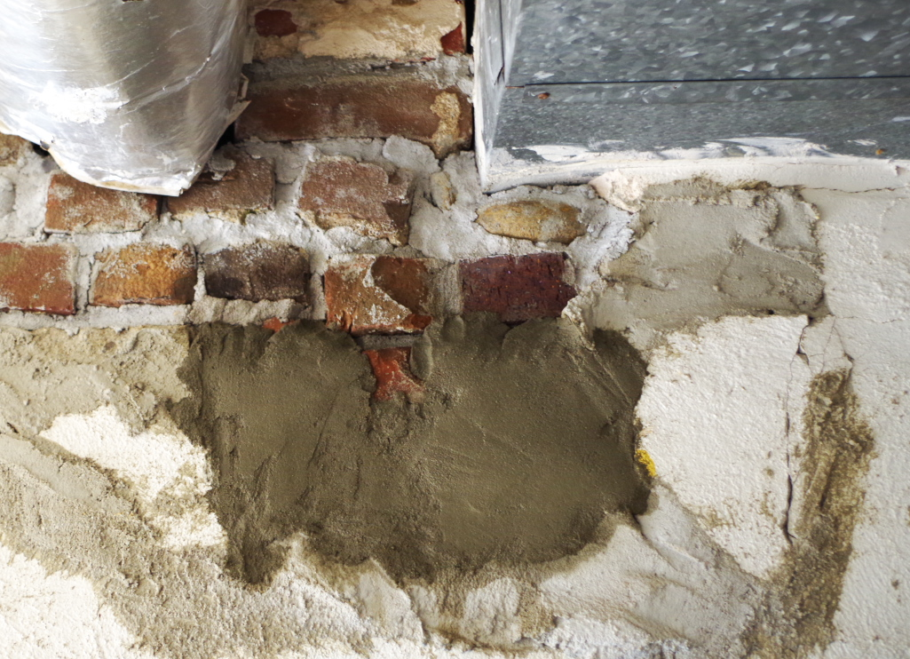 Cutting A Hole In Wall : How to fix a big hole in cement wall plaster disaster