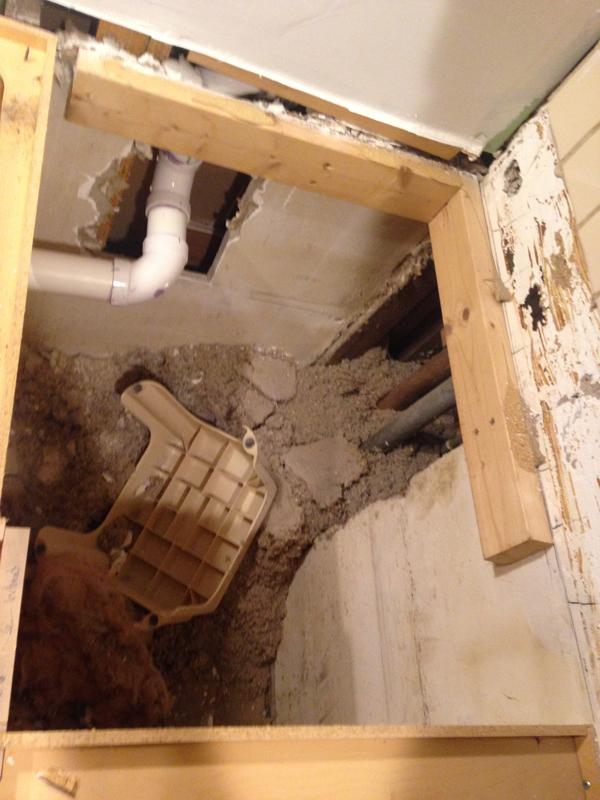 Installing sink and garbage disposal -- Plaster & Disaster