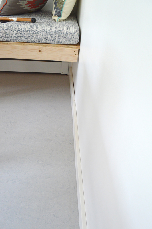 DIY baseboard trim -- Plaster & Disaster