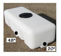 50 Gallon Water Storage Tank   CRMI 50RT