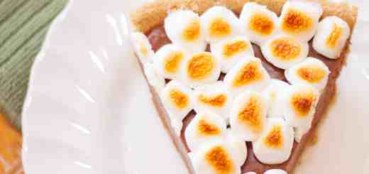 Campfire Style Nutella S'mores Pie