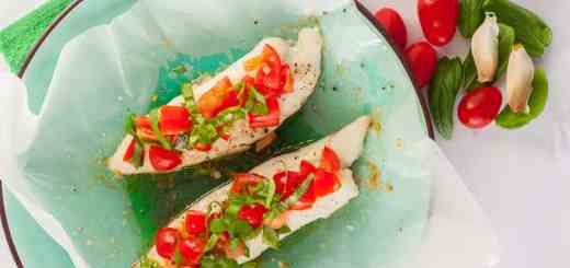 Healthy & Easy Bruschetta Fish