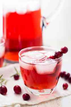 Small Of Cranberry Juice And Vodka