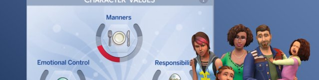 The Sims 4 Parenthood – Character Values