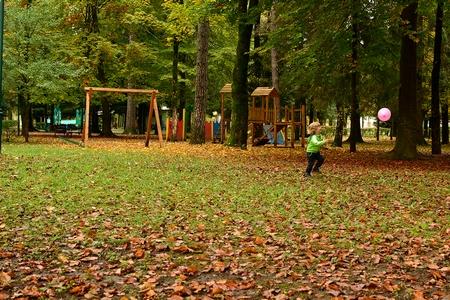 Njegošev park u slikama i bojama
