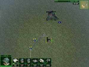A more tactical view of the battlefield.