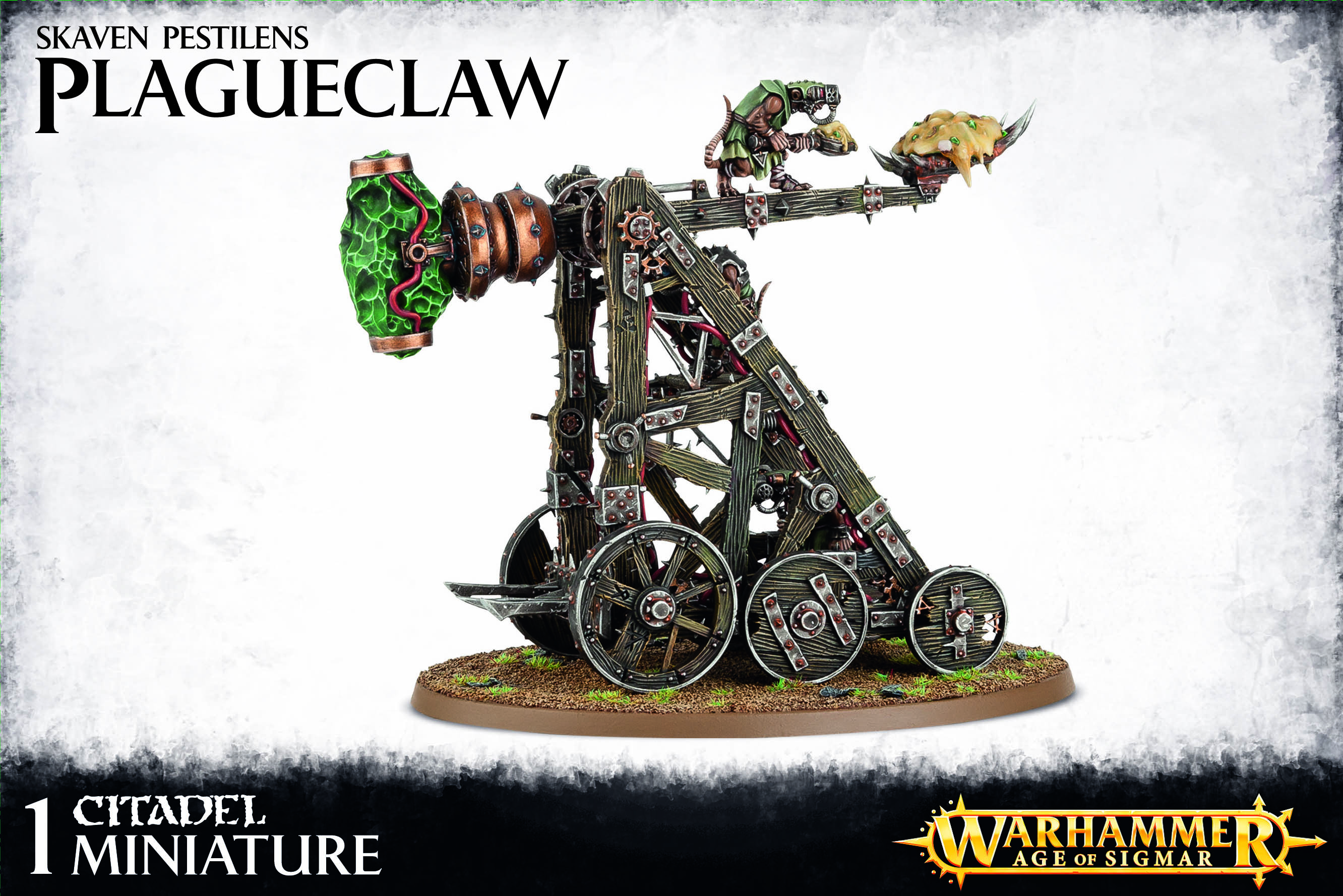 Warp Lightning Cannon / Plagueclaw