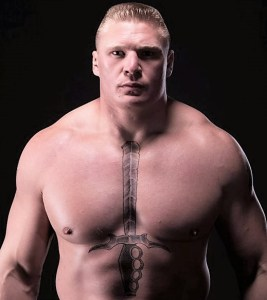Brock Lesnar and suspension? Please!! He's a part timer!