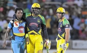 CPL 2016 Jamaica Tallawahs vs St. Lucia Zouks