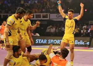Puneri Paltan vs Telugu Titans PKL Match 2016