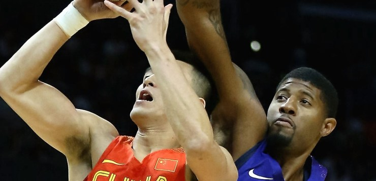 USA Men's Basketball team thumps China