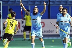 Malaysia vs India Hockey Match