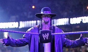The Undertaker is walking around in crutches! Is it the end for Taker?