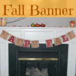 TitiCrafty Monthly Contributor Post: Easy DIY Burlap Banner