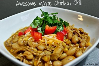 White chicken chili by playpartypin.com