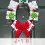 Guest Post: Simple DIY Gift Box Wreath