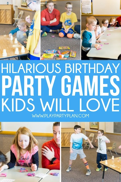 Medium Of Birthday Party Games